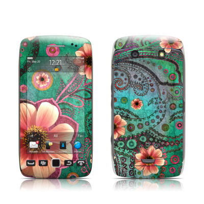 BlackBerry Torch 9850-9860 Skin - Paisley Paradise