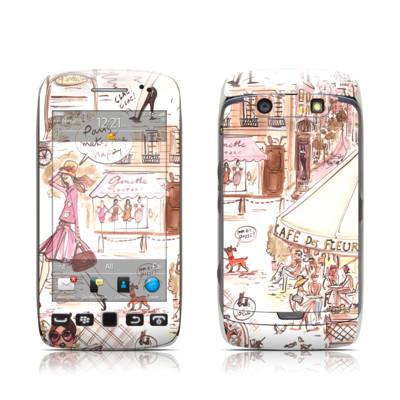 BlackBerry Torch 9850-9860 Skin - Paris Makes Me Happy