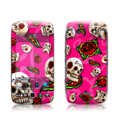 BlackBerry Torch 9850-9860 Skin - Pink Scatter