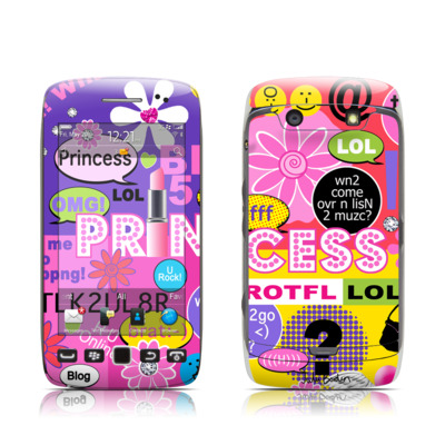 BlackBerry Torch 9850-9860 Skin - Princess Text Me