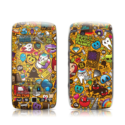BlackBerry Torch 9850-9860 Skin - Psychedelic