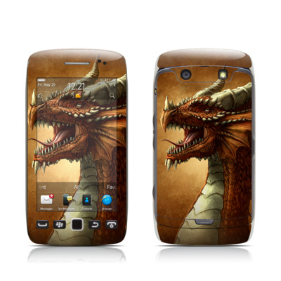 BlackBerry Torch 9850-9860 Skin - Red Dragon