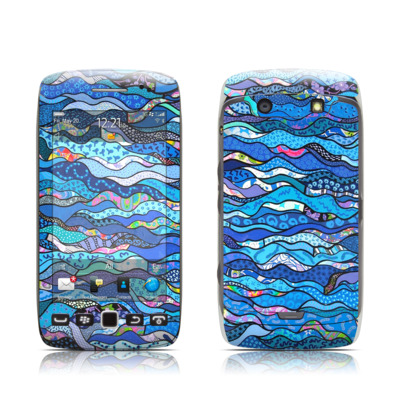 BlackBerry Torch 9850-9860 Skin - The Blues