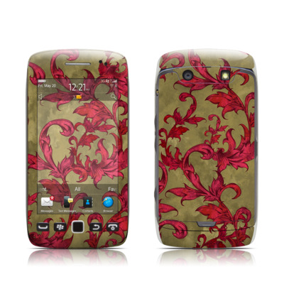 BlackBerry Torch 9850-9860 Skin - Vintage Scarlet