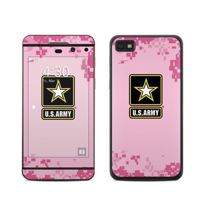 BlackBerry Z10 Skin - Army Pink