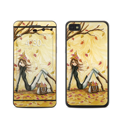 BlackBerry Z10 Skin - Autumn Leaves