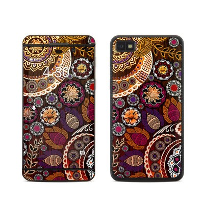 BlackBerry Z10 Skin - Autumn Mehndi