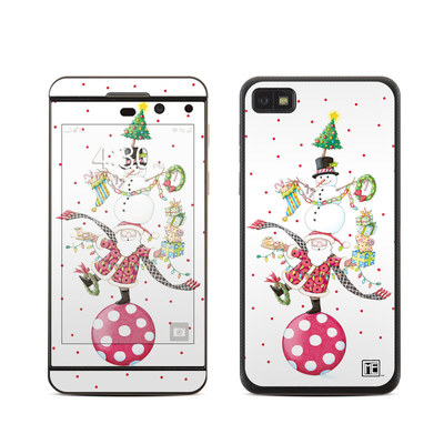 BlackBerry Z10 Skin - Christmas Circus