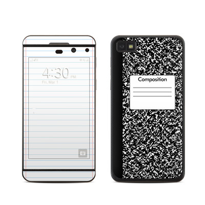BlackBerry Z10 Skin - Composition Notebook