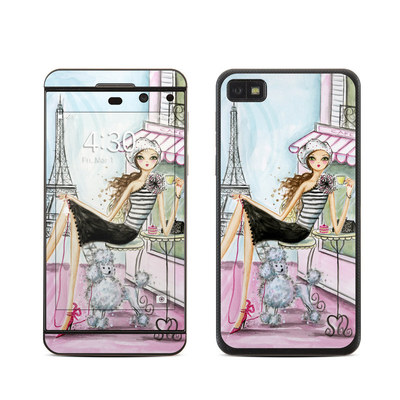 BlackBerry Z10 Skin - Cafe Paris