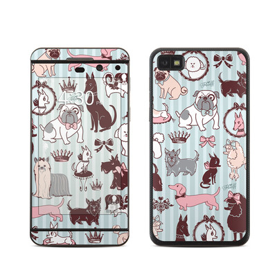 BlackBerry Z10 Skin - Doggy Boudoir