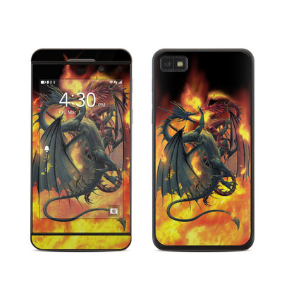 BlackBerry Z10 Skin - Dragon Wars