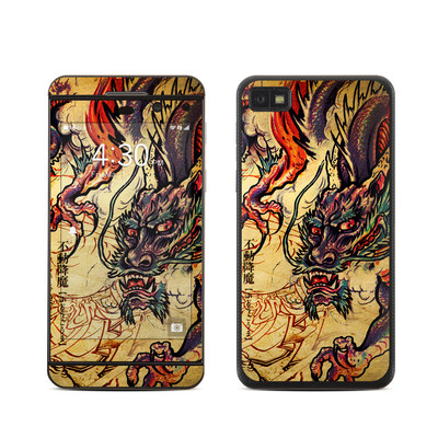 BlackBerry Z10 Skin - Dragon Legend