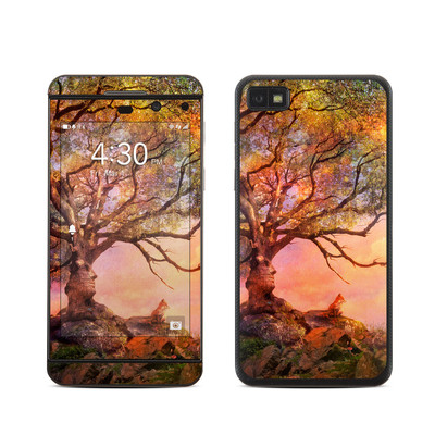 BlackBerry Z10 Skin - Fox Sunset