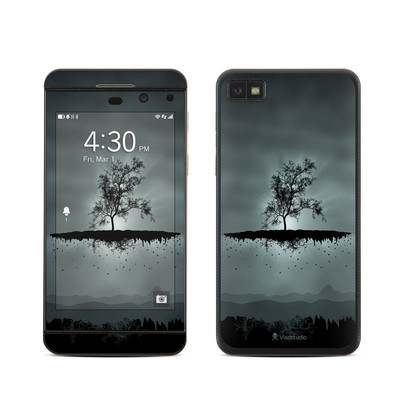 BlackBerry Z10 Skin - Flying Tree Black