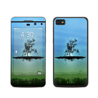 BlackBerry Z10 Skin - Flying Tree Blue