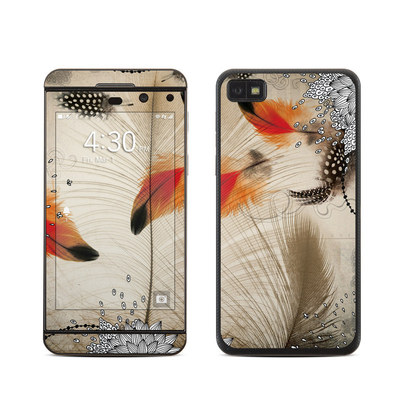 BlackBerry Z10 Skin - Feather Dance