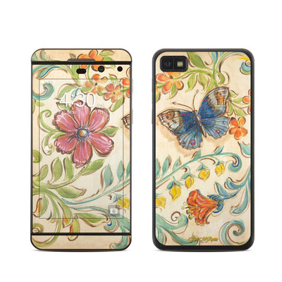 BlackBerry Z10 Skin - Garden Scroll