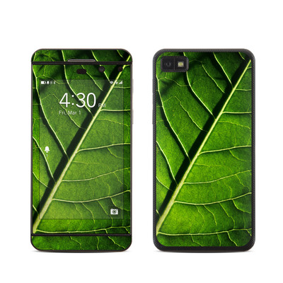 BlackBerry Z10 Skin - Green Leaf