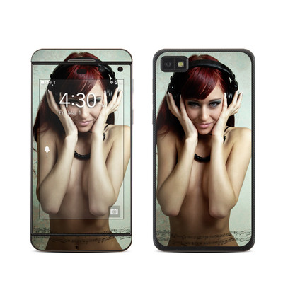 BlackBerry Z10 Skin - Headphones