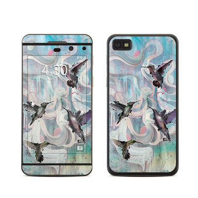 BlackBerry Z10 Skin - Hummingbirds