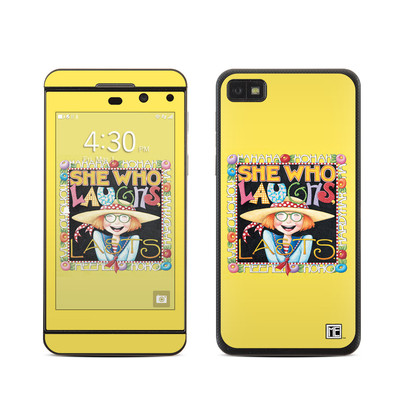 BlackBerry Z10 Skin - She Who Laughs