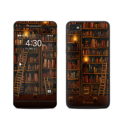 BlackBerry Z10 Skin - Library