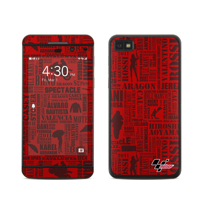 BlackBerry Z10 Skin - Life of MotoGP
