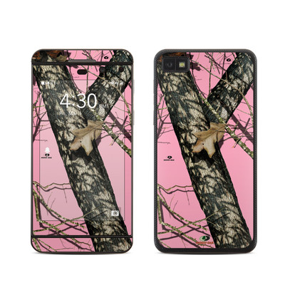 BlackBerry Z10 Skin - Break-Up Pink