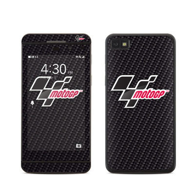 BlackBerry Z10 Skin - MotoGP Carbon Logo