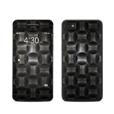 BlackBerry Z10 Skin - Metallic Weave