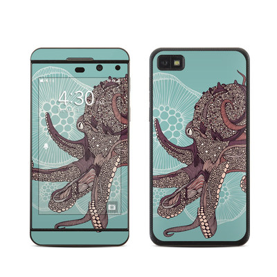 BlackBerry Z10 Skin - Octopus Bloom
