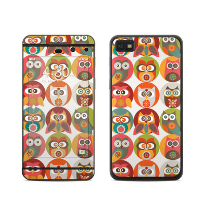 BlackBerry Z10 Skin - Owls Family