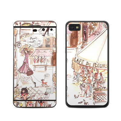 BlackBerry Z10 Skin - Paris Makes Me Happy