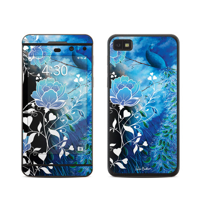 BlackBerry Z10 Skin - Peacock Sky