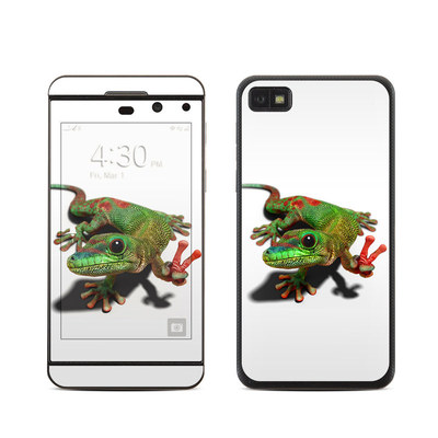 BlackBerry Z10 Skin - Peace Gecko