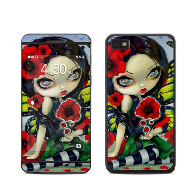 BlackBerry Z10 Skin - Poppy Magic