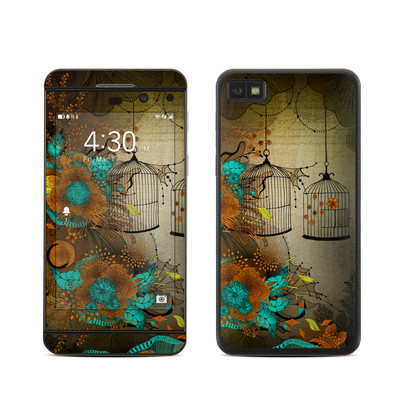 BlackBerry Z10 Skin - Rusty Lace