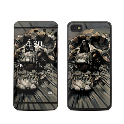 BlackBerry Z10 Skin - Skull Wrap