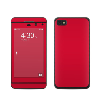 BlackBerry Z10 Skin - Solid State Red