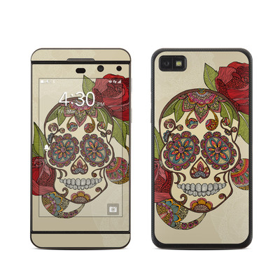 BlackBerry Z10 Skin - Sugar Skull