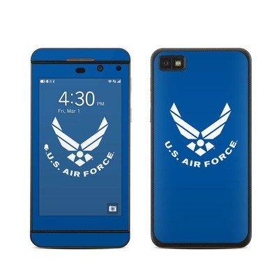 BlackBerry Z10 Skin - USAF Blue