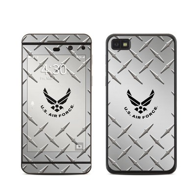 BlackBerry Z10 Skin - USAF Diamond Plate