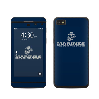 BlackBerry Z10 Skin - USMC Blue