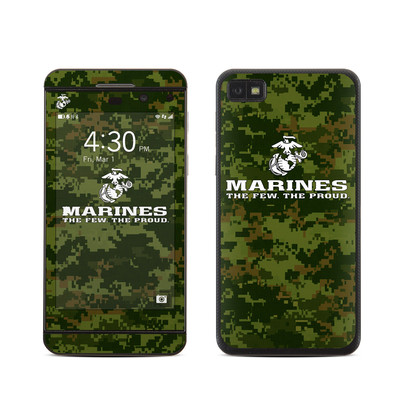 BlackBerry Z10 Skin - USMC Camo