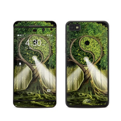 BlackBerry Z10 Skin - Yin Yang Tree
