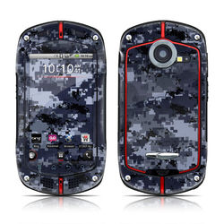Casio G'zOne Commando Skin - Digital Navy Camo