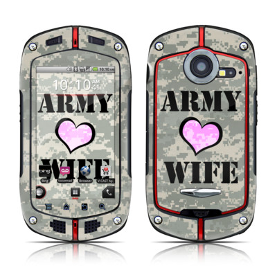 Casio G'zOne Commando Skin - Army Wife