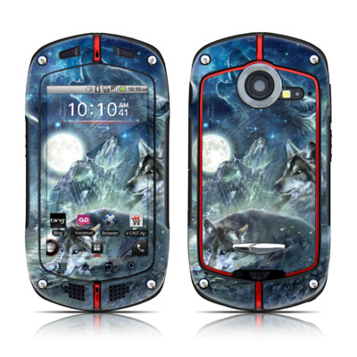Casio G'zOne Commando Skin - Bark At The Moon