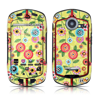 Casio G'zOne Commando Skin - Button Flowers
